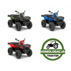 Sportsman 570 EPS T3b, Sage Green / Indy Red / Velocity Blue